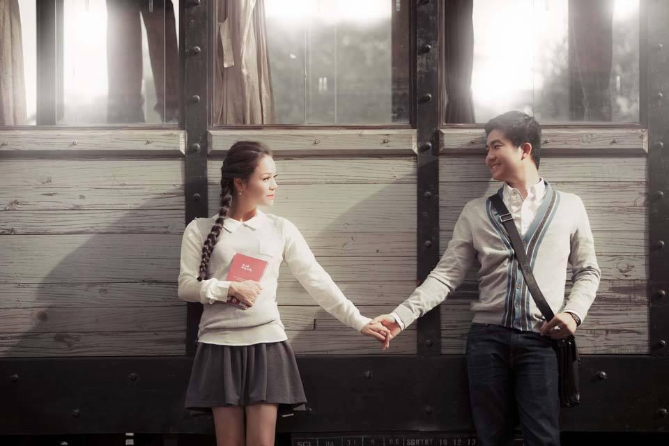 Nhật Kim Anh tung ảnh cưới độc đáo, lãng mạn - Ảnh 5
