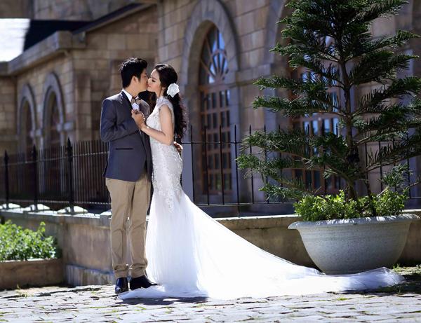 Nhật Kim Anh tung ảnh cưới độc đáo, lãng mạn - Ảnh 12