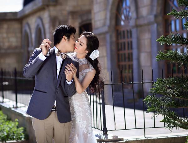 Nhật Kim Anh tung ảnh cưới độc đáo, lãng mạn - Ảnh 13