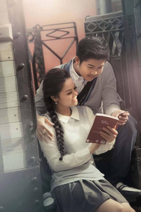 Nhật Kim Anh tung ảnh cưới độc đáo, lãng mạn - Ảnh 6