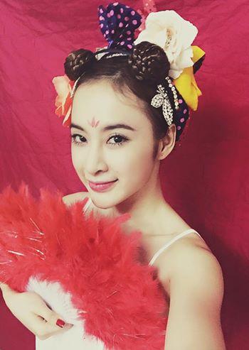 """Angela Phương Trinh hóa Tiểu Long Nữ với """"tóc đùi gà"""" nhí nhảnh  - Ảnh 2"""