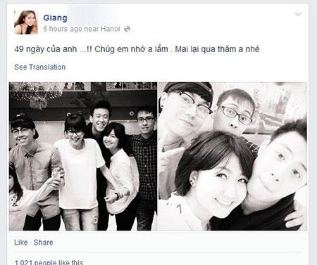 Bạn gái Huyme đăng ảnh tưởng nhớ Toàn Shinoda - Ảnh 1
