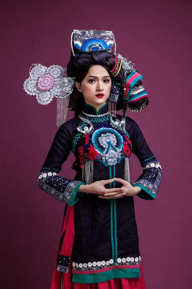 Ấn tượng với màn hóa thân thành người dân tộc của Sao Việt - Ảnh 10