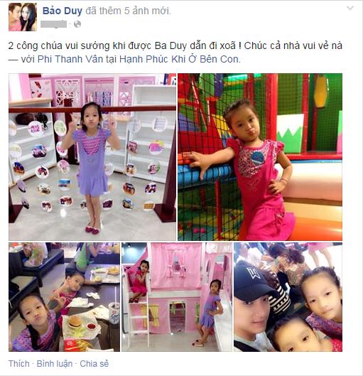 Tình trẻ Phi Thanh Vân khoe ảnh đưa con gái đi chơi Trung thu - Ảnh 1
