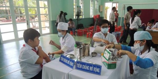 Hơn 14 triệu trẻ em tiêm vắc xin sởi - rubella - Ảnh 1