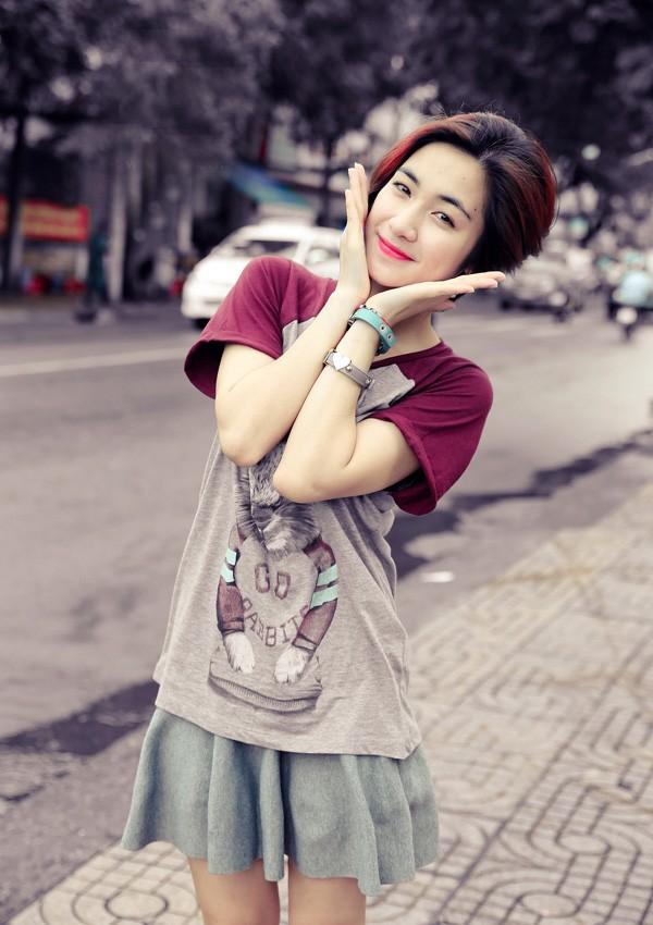 Ngắm hình ảnh dễ thương, cá tính của Hòa Minzy – bạn gái Công Phượng - Ảnh 6