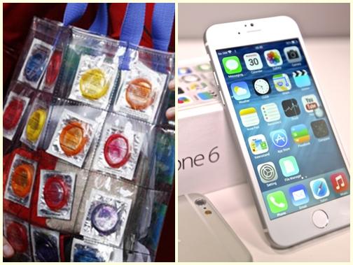 Venezuela: 36 hộp bao cao su giá bằng một chiếc iPhone 6 - Ảnh 1