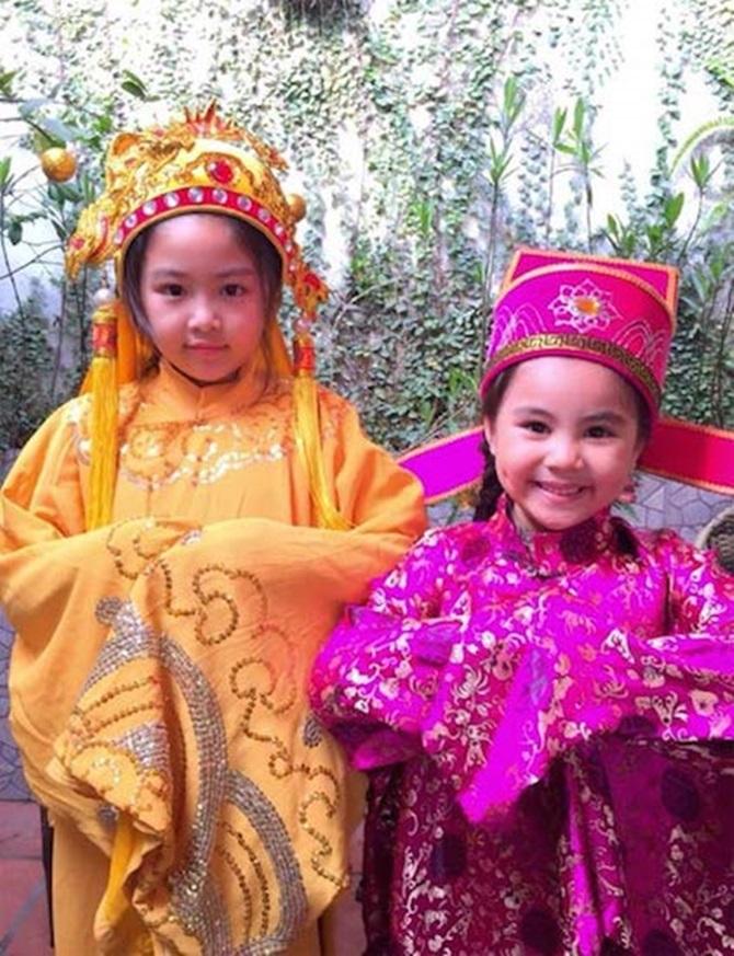 Muôn kiểu đón Tết Ất Mùi 2015 của sao Việt - Ảnh 24