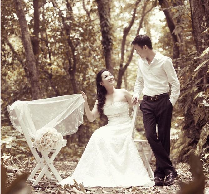 Trọn bộ ảnh cưới ngọt ngào của Thanh Thanh Hiền – Chế Phong - Ảnh 1