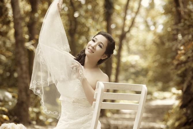 Trọn bộ ảnh cưới ngọt ngào của Thanh Thanh Hiền – Chế Phong - Ảnh 7