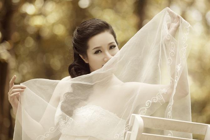 Trọn bộ ảnh cưới ngọt ngào của Thanh Thanh Hiền – Chế Phong - Ảnh 8