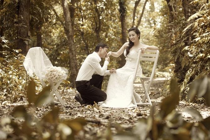 Trọn bộ ảnh cưới ngọt ngào của Thanh Thanh Hiền – Chế Phong - Ảnh 2