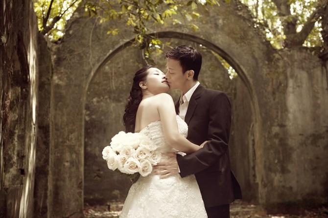Trọn bộ ảnh cưới ngọt ngào của Thanh Thanh Hiền – Chế Phong - Ảnh 4