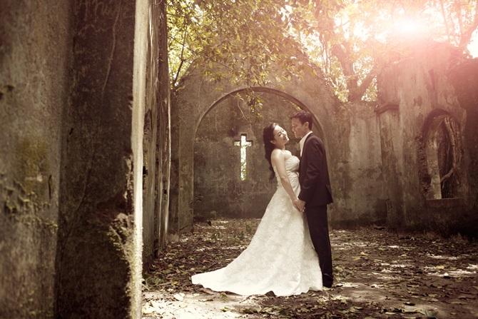 Trọn bộ ảnh cưới ngọt ngào của Thanh Thanh Hiền – Chế Phong - Ảnh 9