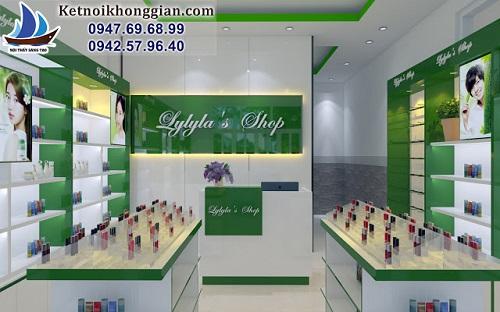 Thiết kế shop mỹ phẩm Hàn Quốc Lylyla's Shop – Hạ Long - Ảnh 1