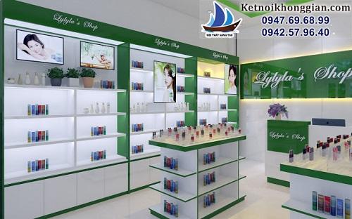 Thiết kế shop mỹ phẩm Hàn Quốc Lylyla's Shop – Hạ Long - Ảnh 2