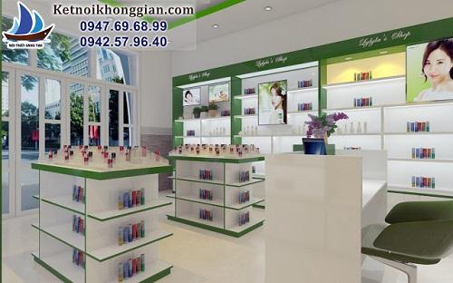 Thiết kế shop mỹ phẩm Hàn Quốc Lylyla's Shop – Hạ Long - Ảnh 4