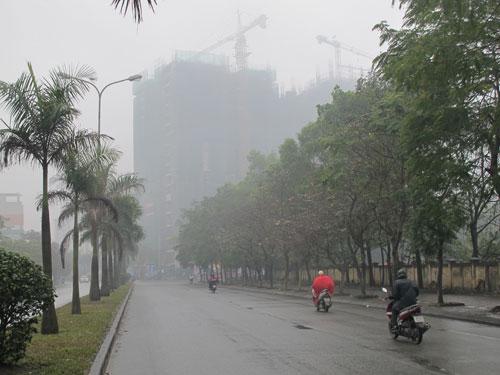 Mưa axit xuất hiện bất thường ở Bắc Giang - Ảnh 1