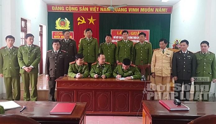 Hà Tĩnh: Ra quân phòng ngừa, truy quét tội phạm dịp tết Nguyên Đán - Ảnh 2