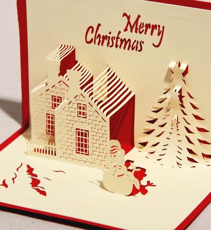 Noel 2014: Mẫu thiệp Noel đẹp và ý nghĩa nhất tặng bạn bè, người yêu - Ảnh 11