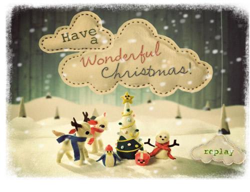 Noel 2014: Mẫu thiệp Noel đẹp và ý nghĩa nhất tặng bạn bè, người yêu - Ảnh 7