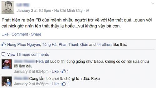 """Người dùng Facebook tiếp tục bị """"ép"""" dùng tên thật - Ảnh 2"""