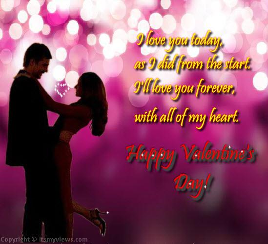 Ngày Valentine: Những tấm thiệp đẹp nhất thay cho lời muốn nói - Ảnh 2
