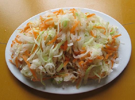 Nộm su hào cà rốt: Món ngon chống ngán ngày Tết - Ảnh 3