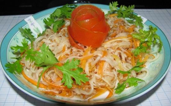 Nộm su hào cà rốt: Món ngon chống ngán ngày Tết - Ảnh 5