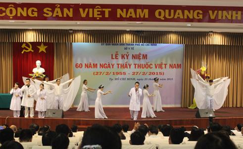 TP.HCM tổ chức kỷ niệm ngày Thầy thuốc Việt Nam - Ảnh 1