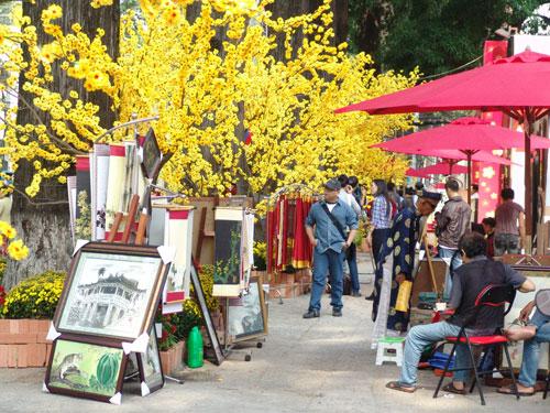 Điểm danh những địa điểm chụp ảnh Tết Ất Mùi đẹp nhất Sài Gòn - Ảnh 2