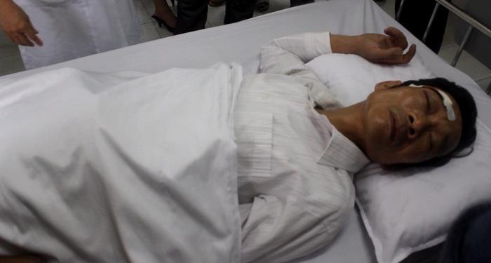 Tai nạn ở dự án đường sắt trên cao: Một nạn nhân vẫn hôn mê - Ảnh 2