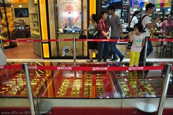 Đại gia dùng 600 kg vàng làm gạch lót đường - Ảnh 2