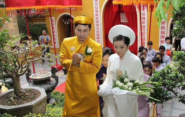 Ngắm ảnh cưới của ái nữ cố Chủ tịch Tập đoàn Nam Cường - Ảnh 6