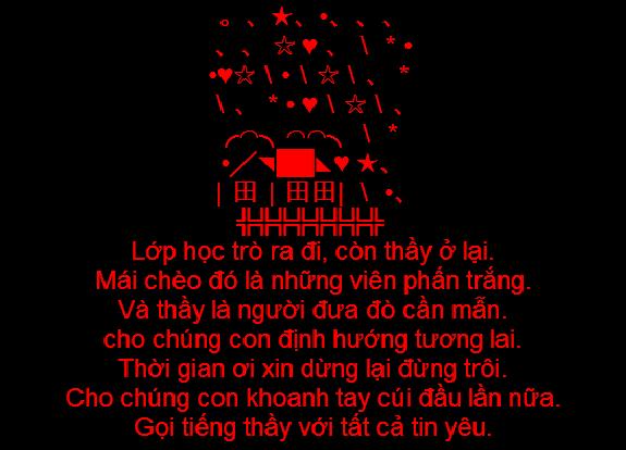 Tin nhắn sms chúc mừng ngày nhà giáo Việt Nam 20/11 - Ảnh 4