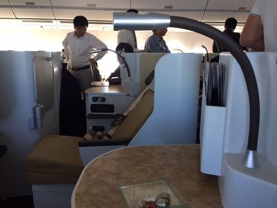 Bộ trưởng Đinh La Thăng bay trình diễn cùng máy bay A350 XWB - Ảnh 5
