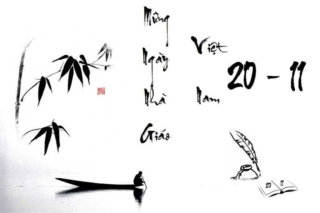 Ngày 20/11: Lời ngỏ hay và ấn tượng cho báo tường - Ảnh 1