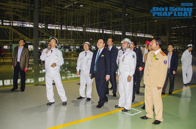 Cận cảnh nhà máy 120 triệu USD của Honda Việt Nam - Ảnh 2