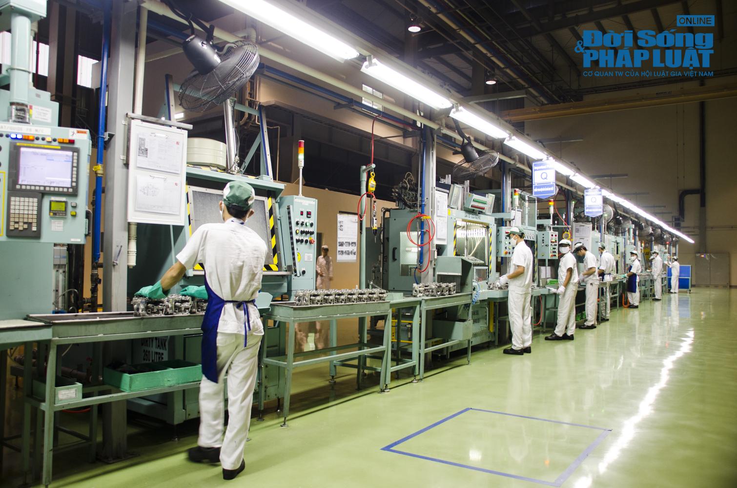 Cận cảnh nhà máy 120 triệu USD của Honda Việt Nam - Ảnh 5