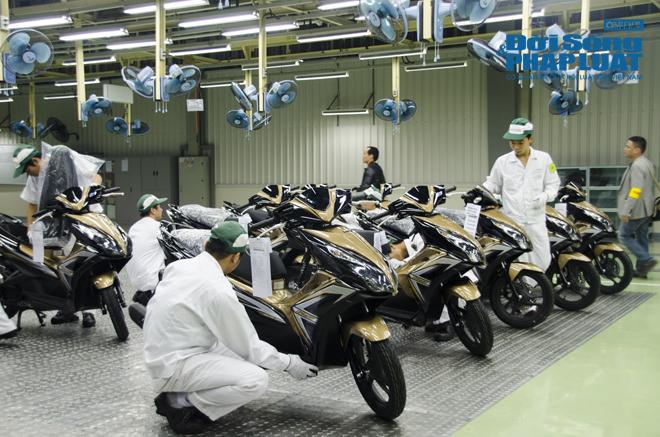 Cận cảnh nhà máy 120 triệu USD của Honda Việt Nam - Ảnh 7
