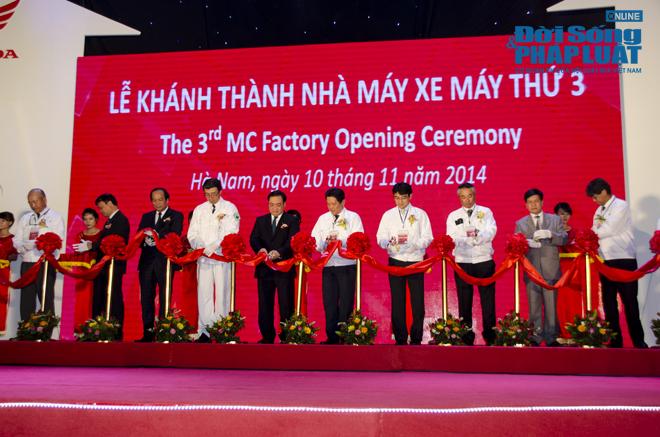 Cận cảnh nhà máy 120 triệu USD của Honda Việt Nam - Ảnh 1