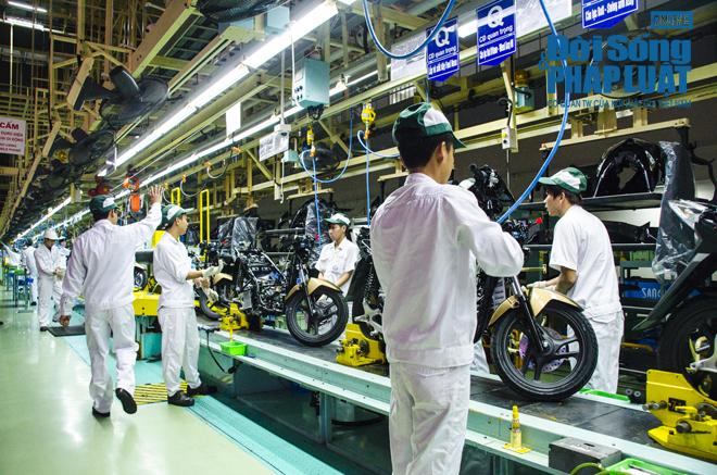 Cận cảnh nhà máy 120 triệu USD của Honda Việt Nam - Ảnh 6