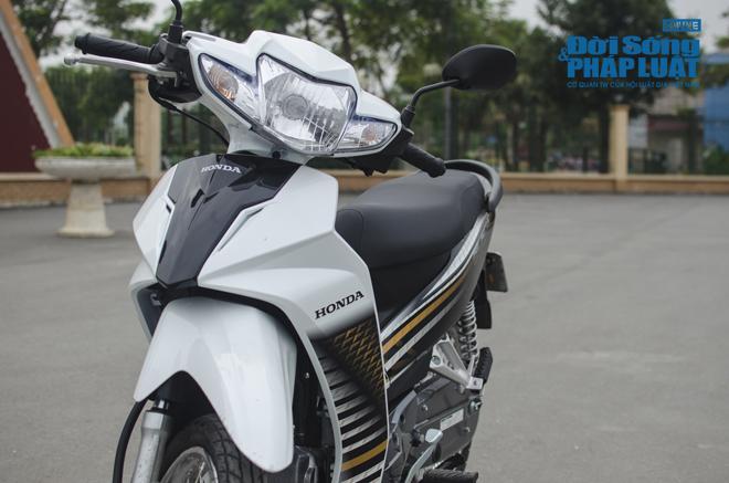 Trải nghiệm Honda Blade 110 vi vu phố Hà thành - Ảnh 3