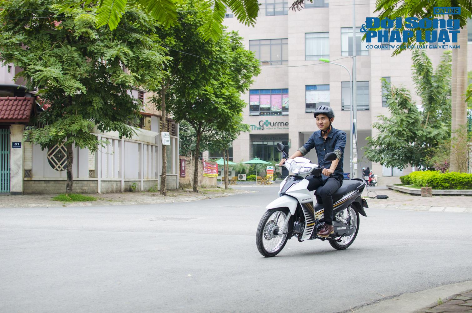 Trải nghiệm Honda Blade 110 vi vu phố Hà thành - Ảnh 2