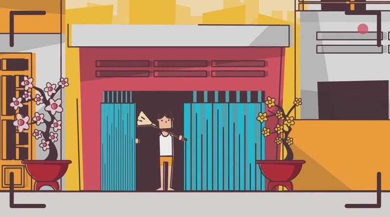 Video hoạt họa vui về những điều không nên làm trong ngày tết - Ảnh 1