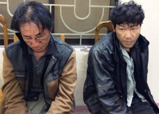 Bắt hai kẻ vận chuyển ma túy bắn bị thương công an - Ảnh 1