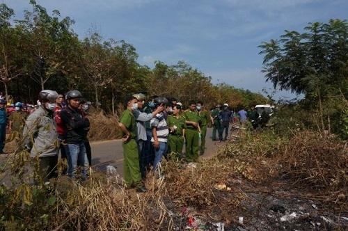Bắt khẩn cấp nghi can đốt cháy nữ chủ nợ tại Bình Phước  - Ảnh 1
