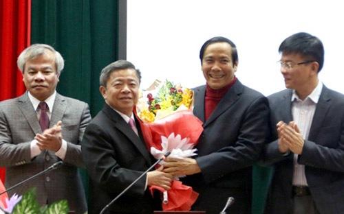Chủ tịch UBND tỉnh Hà Tĩnh được bầu giữ chức Bí thư Tỉnh ủy - Ảnh 1
