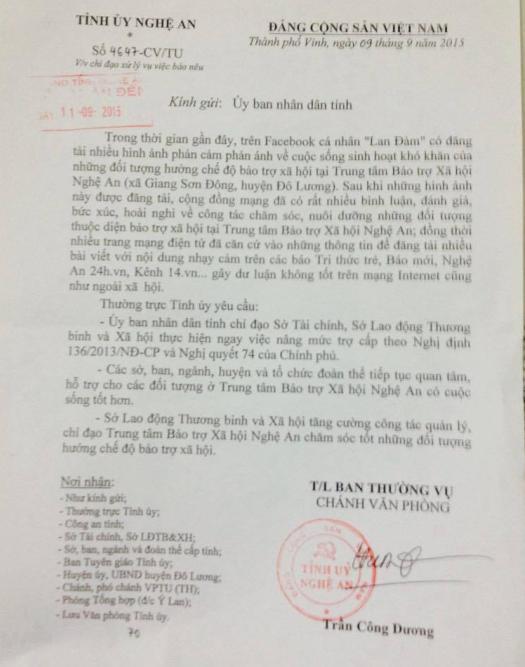 Tỉnh ủy Nghệ An chỉ đạo thực hiện nâng mức trợ cấp cho BN tâm thần - Ảnh 2