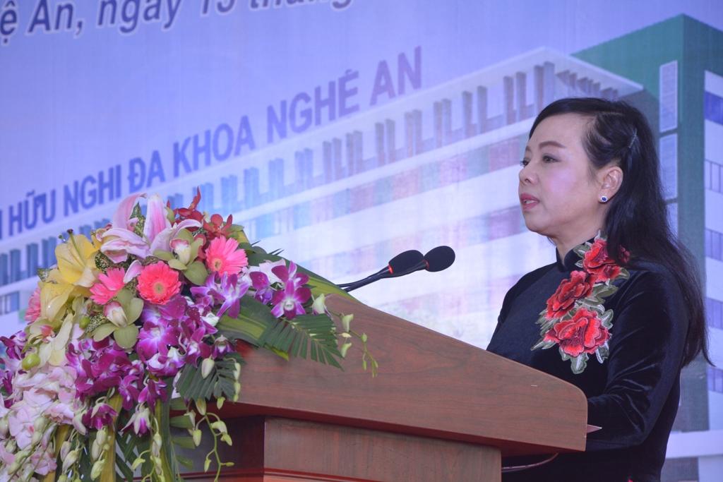 Khởi công xây dựng bệnh viện 1300 tỷ ở Nghệ An - Ảnh 1